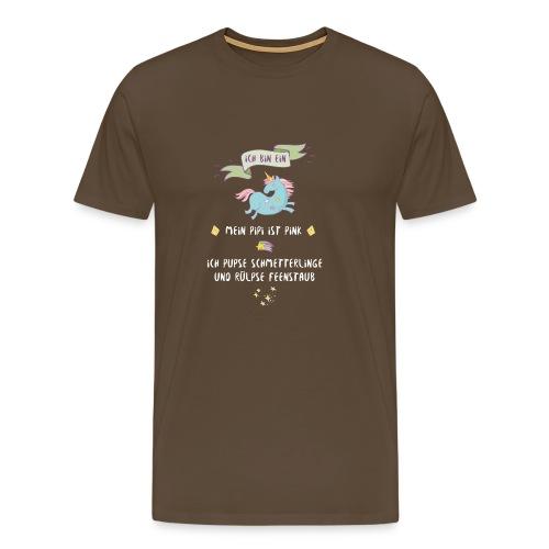 Ich bin ein Einhorn - Männer Premium T-Shirt