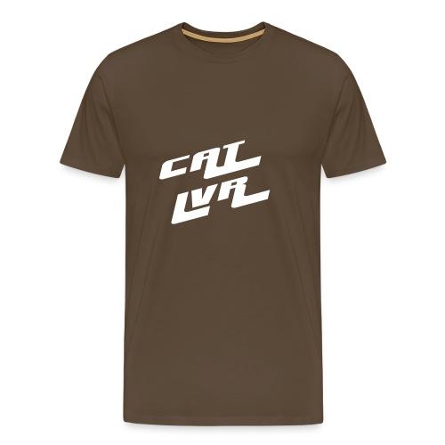 Cat lover husky - Männer Premium T-Shirt