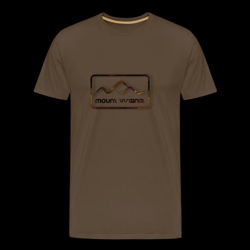 Mount Virginia Dark - Männer Premium T-Shirt