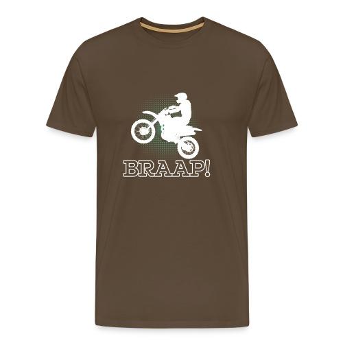 Dirtbike Braap Motocross - Men's Premium T-Shirt