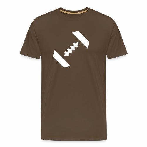 MinimalisticFootballShape - Männer Premium T-Shirt