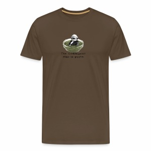 Man-in-pesto - Men's Premium T-Shirt
