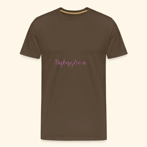 Nybygden - Premium-T-shirt herr