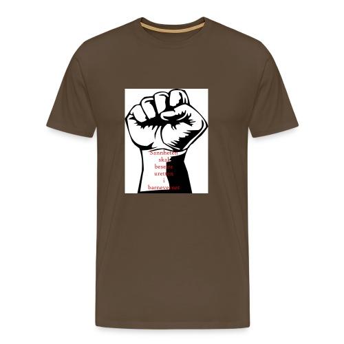 Knytteneve - Premium T-skjorte for menn