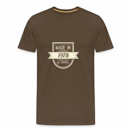 1978 - Mannen Premium T-shirt