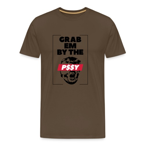 pussy black - Männer Premium T-Shirt