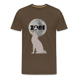 In the Zone Wolf - Camiseta premium hombre
