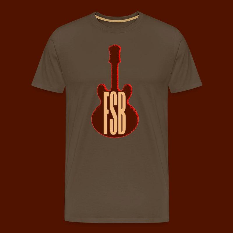 FSB Guitar Logo - Men's Premium T-Shirt