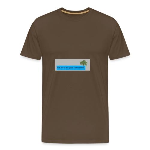 Cherry - Männer Premium T-Shirt