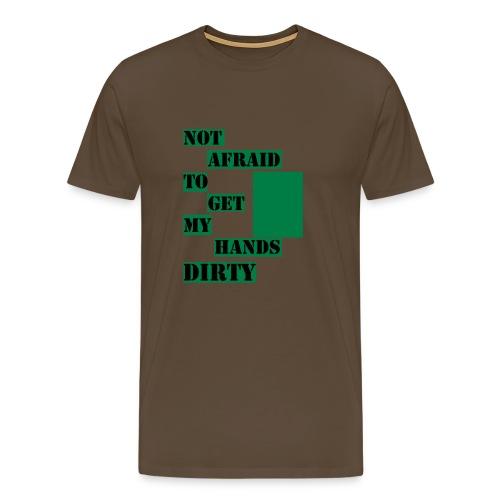 NOT AFRAID - Tanktop - Premium-T-shirt herr