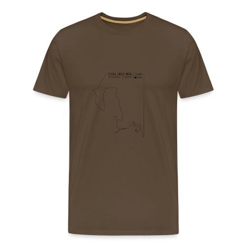 ColDelsReis schwarz / Sa Calobra - Männer Premium T-Shirt