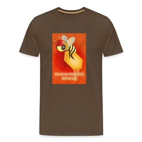 Work in progress, sister bee(RedBg) - Maglietta Premium da uomo