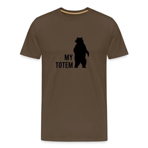 My totem Bear - T-shirt Premium Homme