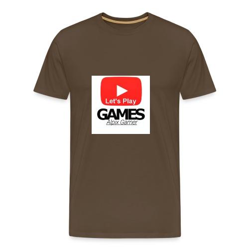 Gönnt euch denn Alpix Gamer Merch - Männer Premium T-Shirt