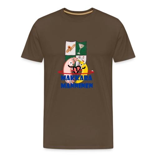 Makkara Manninen -vauvan body - Miesten premium t-paita