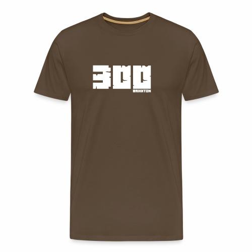 BrixxtoN 300 Abo Weiss - Männer Premium T-Shirt