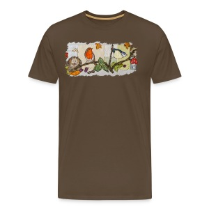 Autumn Scene - Men's Premium T-Shirt
