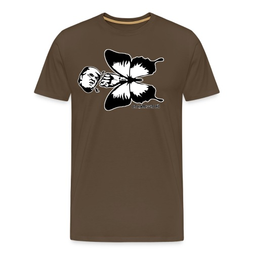 Zerschmetterling gegen Trump - Männer Premium T-Shirt