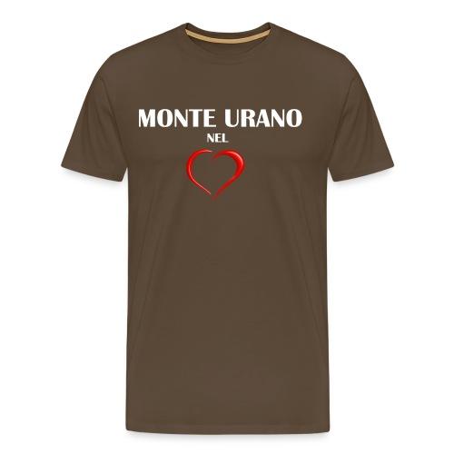 Monte Urano nel Cuore - Maglietta Premium da uomo