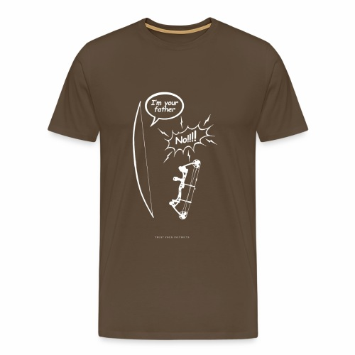 I am your father - Traditional Archery - Men's Premium T-Shirt