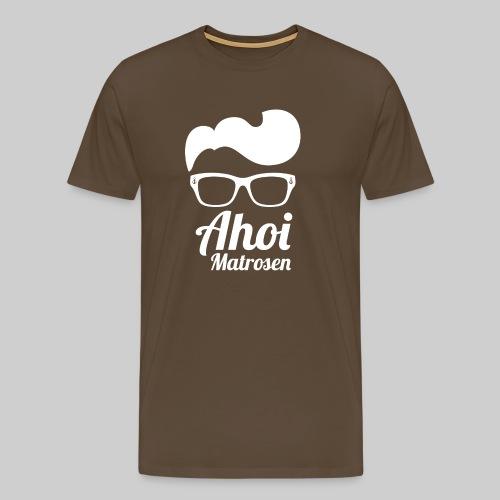 Küsten Hipster Matrose weiss - Männer Premium T-Shirt