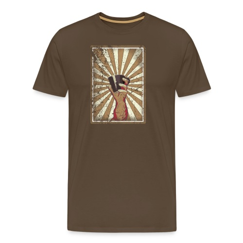 Coffee revolution! - Mannen Premium T-shirt