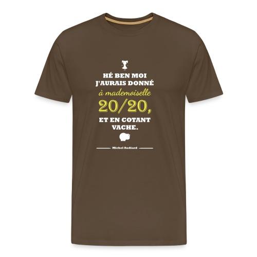 Citation Les Tontons Flingueurs - Audiard - T-shirt Premium Homme