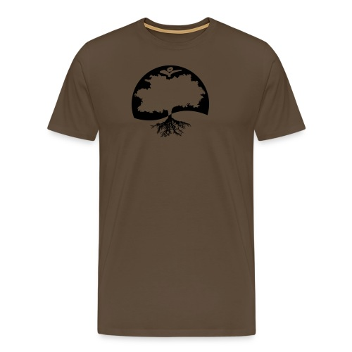 Naturals Logo Grafik - Männer Premium T-Shirt