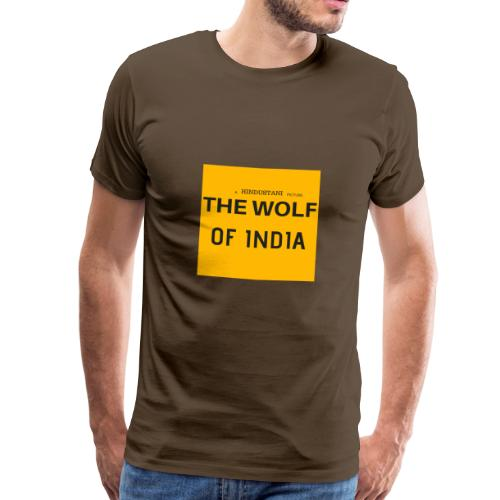 THE WOLF OF INDIA - Men's Premium T-Shirt