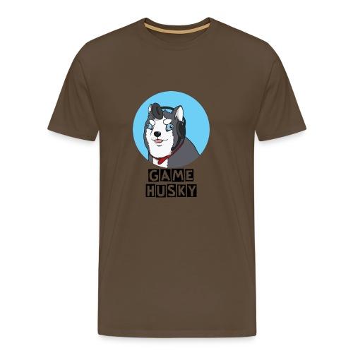 Maglietta Bianca Game Husky - Maglietta Premium da uomo