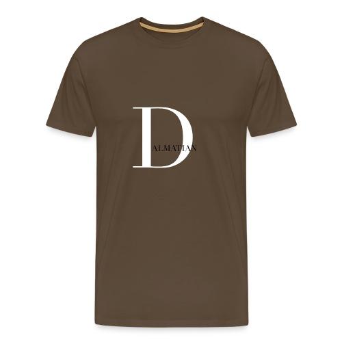 Big D Dalmatian - Premium-T-shirt herr