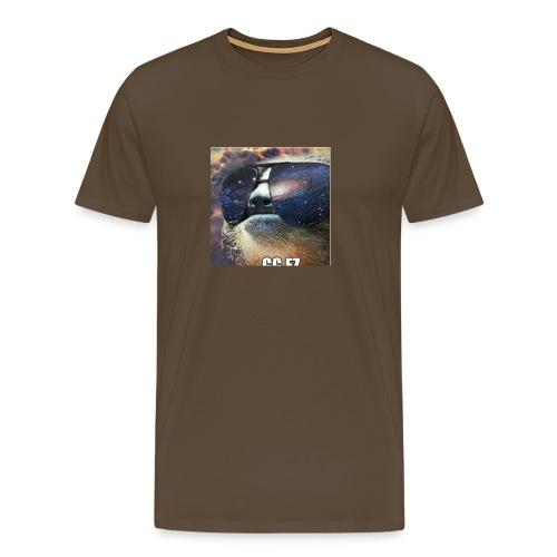 in space WOW - Mannen Premium T-shirt
