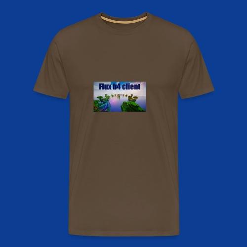 Flux b4 client Shirt - Men's Premium T-Shirt