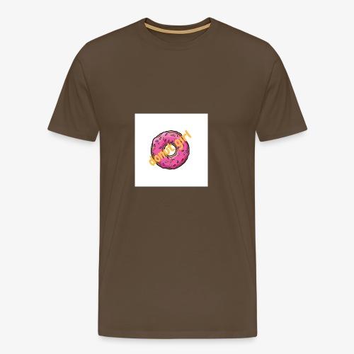 donut girl - Camiseta premium hombre