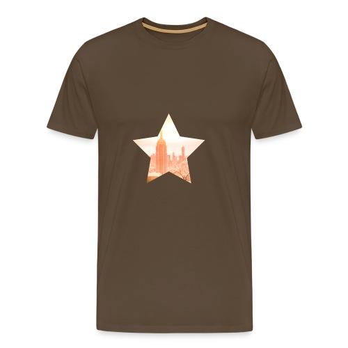top-of-the-rock-new-york - Männer Premium T-Shirt