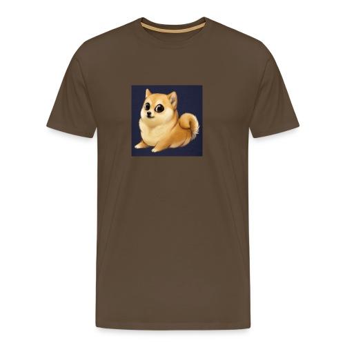 CuteDogiiShirt<3 - Männer Premium T-Shirt