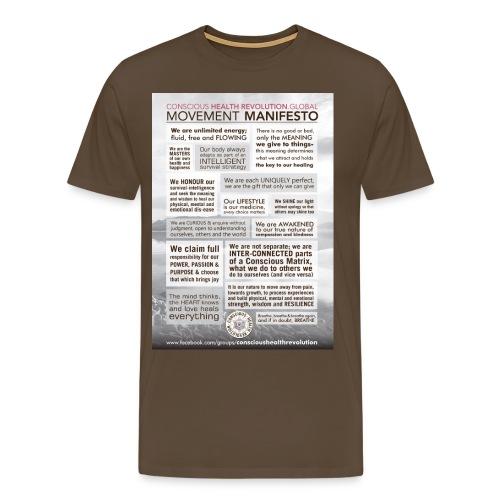 Movement Manifesto - Men's Premium T-Shirt