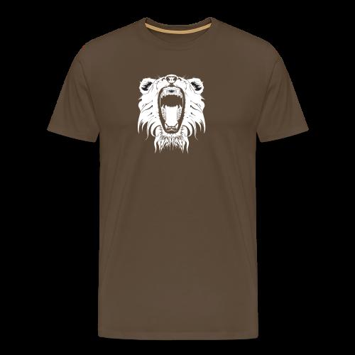 Lion Collection - Premium T-skjorte for menn