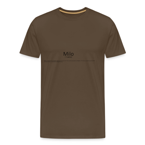 Milo Definition - Männer Premium T-Shirt
