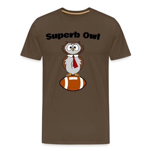 Superb Owl - Männer Premium T-Shirt