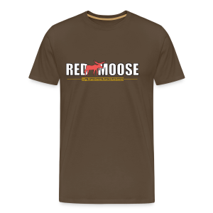 Red Moose logo - Premium-T-shirt herr