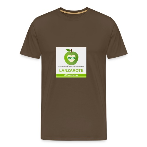 CCD LANZAROTE - Camiseta premium hombre