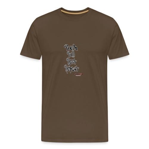 Push pull rest repeat design - Men's Premium T-Shirt