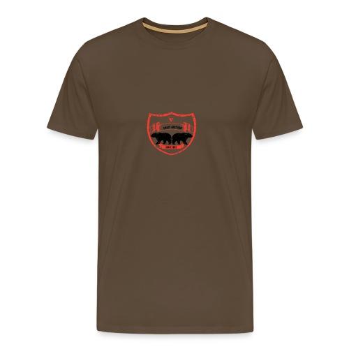 Crazy bastard - Herre premium T-shirt