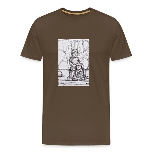 detail devil - T-shirt Premium Homme