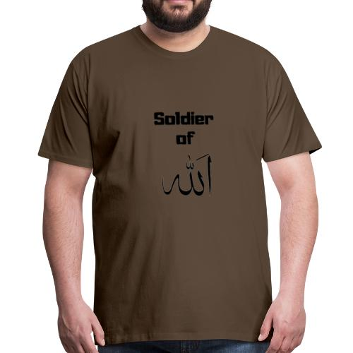 soldier of Allah - Men's Premium T-Shirt