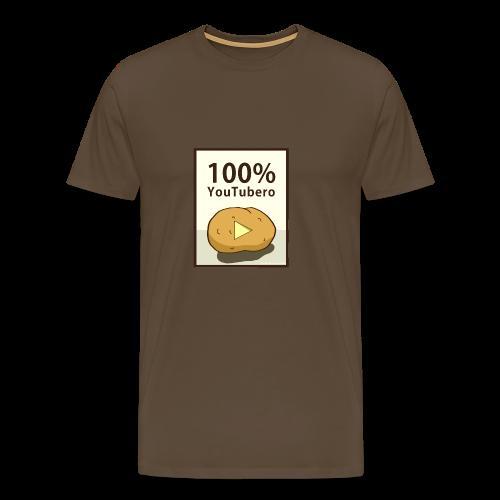 100-_youtubero - Maglietta Premium da uomo