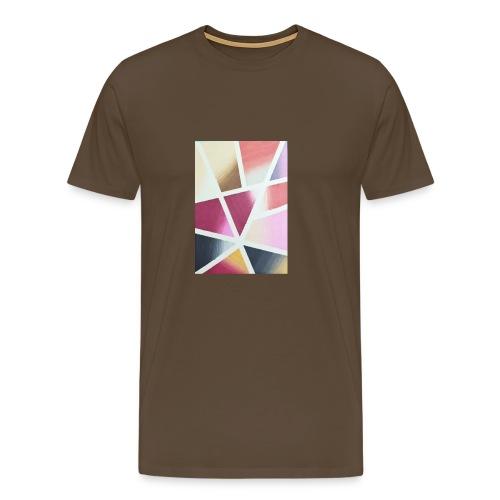 Farbige Kunst - Männer Premium T-Shirt