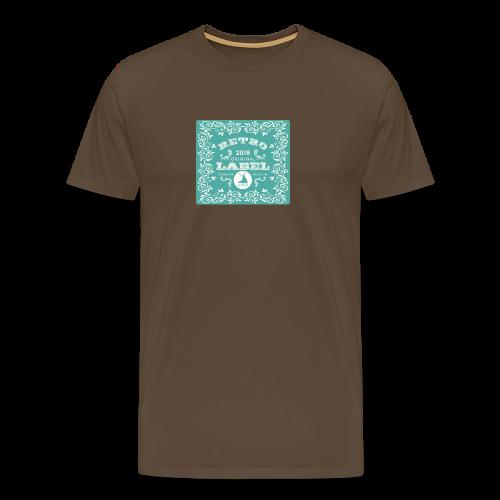 geweihbär RETRO 2018 - Männer Premium T-Shirt