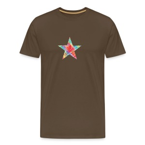 Color star of david - Men's Premium T-Shirt
